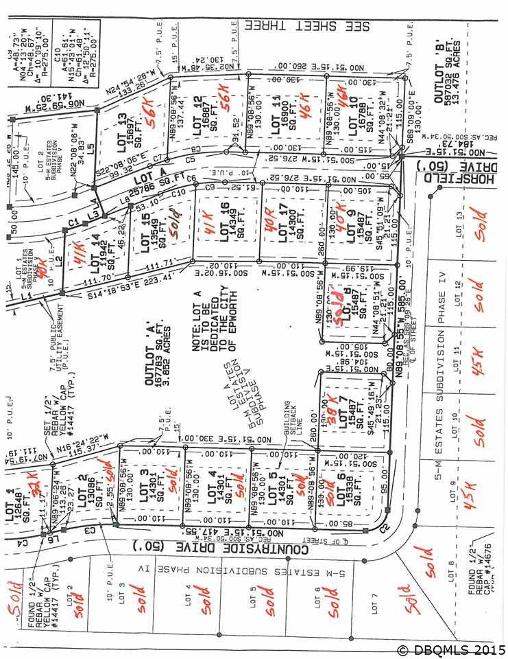Lot 9 Horsfield Dr. Phase 6 Epworth, IA 52045